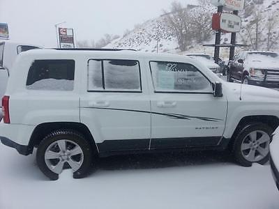 2013 Jeep Patriot Latitude Sport Utility 4-Door 2013 Jeep Patriot Latitude White