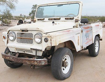 1966 Nissan Other  1966 NISSAN Patrol L60 4x4 JEEP Vintage Classic Arizona  2nd owner 4 X 4 in use