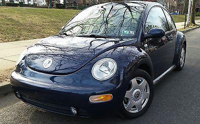 2001 Volkswagen Beetle-New GLS 2001 Volkswagen Beetle GLS - low miles, sunroof, fun summer car