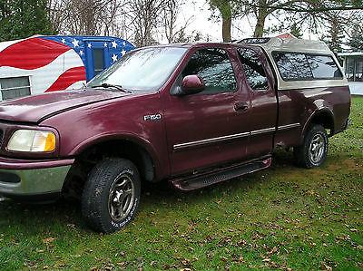 1997 Ford F-150 XLT 1997 Ford 150 Pickup - 4.6l  3 Door, 105,250 Mi.