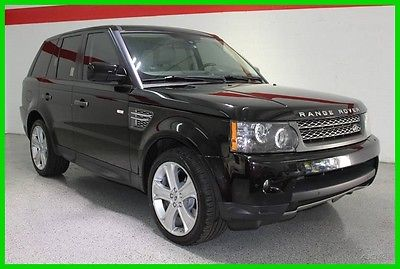 2011 Land Rover Range Rover Sport Supercharged 2011 LAND ROVER RANGE ROVER SUPERCHARGED PREMIUM V8  4WD TV/DVD LOADED
