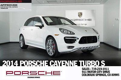 2014 Porsche Cayenne 2014 Porsche Turbo S