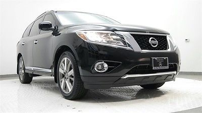 2014 Nissan Pathfinder Platinum 2014 Nissan Pathfinder, Super Black with 31,000 Miles available now!