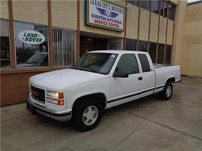 1996 GMC Sierra 1500 SLE 1 Owner, 5.7L V8, 2WD, SLE, Work Truck, Money Back Guarantee !!!