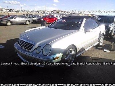 Genuine Mercedes-Benz C209 CLK Saloon//Est Front Discs /& Pads Kit NEW!