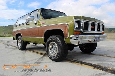 1973 GMC Jimmy hard to find in this condition California Jimmy, Chevrolet Blazer K5