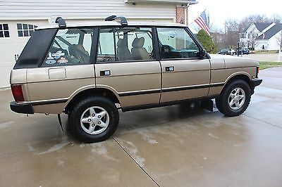 1995 Land Rover Range Rover CLASSIC COUNTY LWB Land Rover Range Rover Classic