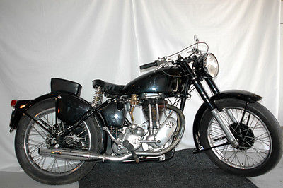 Other Makes 1948 AJS 16. 350 single. Tons of character!