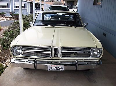 1967 Plymouth Other  Plymouth 1967 Valiant Signet