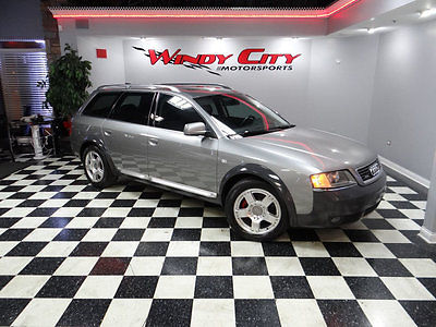 2004 Audi Allroad Base Wagon 4-Door 2004 Audi Allroad Quattro Wagon 2.7 Twin-Turbo AWD Heated Leather Just Serviced!