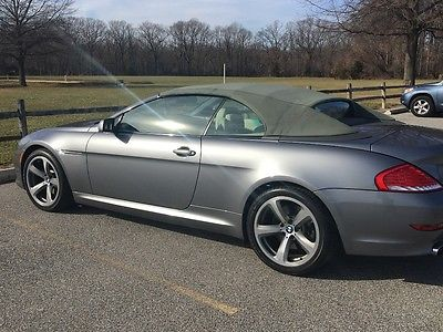 2008 BMW 6-Series 650i convertible bmw 6-series