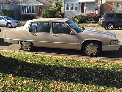 1989 Cadillac Fleetwood Leather Cadillac Fleetwood