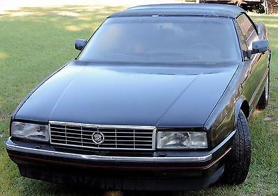 1992 Cadillac Allante ALLANTE CADILLAC 1992 BLK/BLK LEATHER INT. Convertible