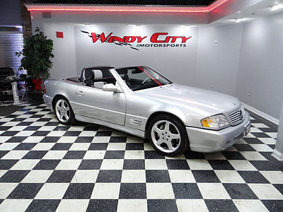 2002 Mercedes-Benz SL-Class SL500 2002 Mercedes Benz SL500 Silver Arrow Limited Edit. 77k 1 Of Only 1400 Produced!