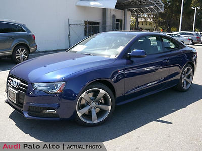 2014 Audi S5 Premium Plus Coupe 2-Door Audi S5 Quattro, Supercharged, MMI Navigation plus, Black optic, Napa leather