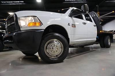 2012 Ram Ram Chassis 3500 ST 4x4 6.7L Cummins DPF & EGR Deleted Flat Bed 2012 RAM Ram Chassis 3500 ST 4x4 6.7L Cummins DPF & EGR Deleted Flat Bed 144k TX