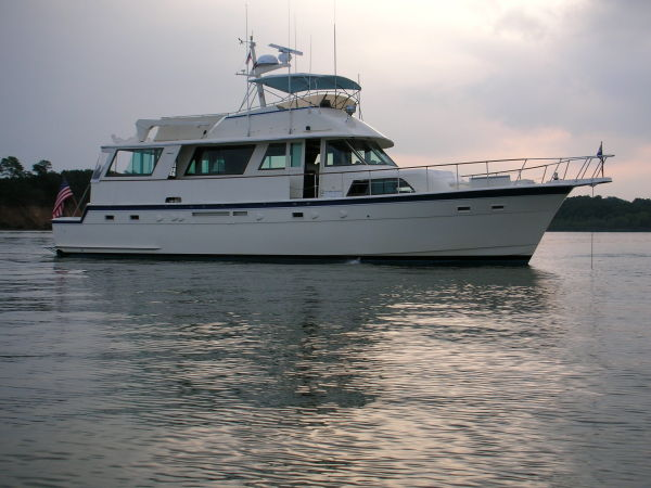 Hatteras cockpit motor yacht boats for sale in florida for Motor yachts for sale in florida