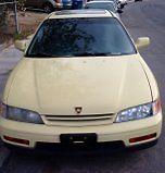 1994 Honda Accord EX Coupe 2-Door 1994 Honda Accord Yellow Rebuilt Tranny Las Vegas **NEW Low Price**