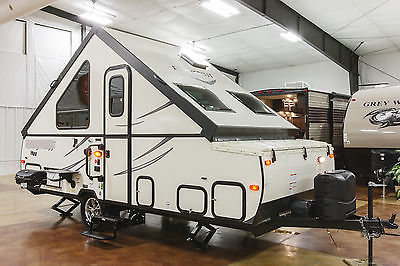 New 2017 T12TBHW A Frame Hard Side High Wall Pop Up Camping Trailer Trailer