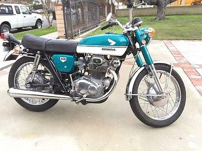 1970 Honda CB Motorcycle