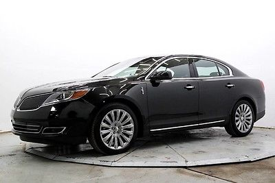 2015 Lincoln MKS Base Sedan 4-Door AWD Nav Lthr Htd & AC Seats THX Sound Pwr Moonroof 20in Wheels 2K Must See Save