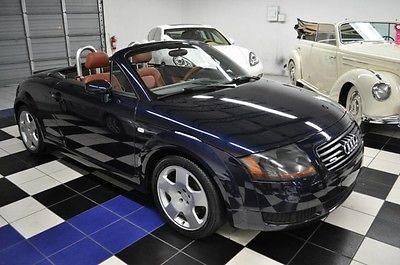 2002 Audi TT QUATTRO 225HP - 6SP MANUAL - BASEBALL OPTIC LEATHE 2002 Audi 225 HP & 6-SPEED MANUAL