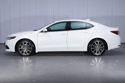 2015 Acura TLX $43,395 MSRP V6 Advanced LED's Lane Departure Active Cruise Blind Spot NAVI