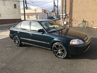 1996 Honda Civic LX Sedan 4-Door 1996 Honda Civic LX Sedan 4-Door 1.6L