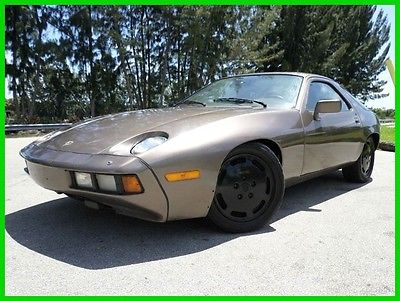 1983 Porsche 928 S 1983 PORSCHE 928 S 4.7L V8 AUTOMATIC COUPE PROJECT NEEDS TLC