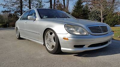 2002 Mercedes-Benz S-Class 55 AMG Lowered