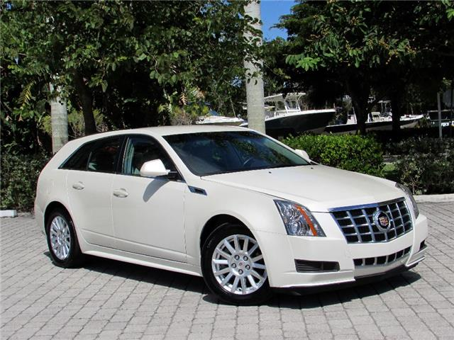 2013 cadillac cts wagon white cars for sale. Black Bedroom Furniture Sets. Home Design Ideas