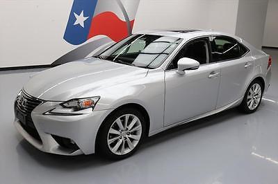 2015 Lexus IS  2015 LEXUS IS250 SUNROOF BLUETOOTH REAR CAM ALLOYS 35K #046737 Texas Direct Auto