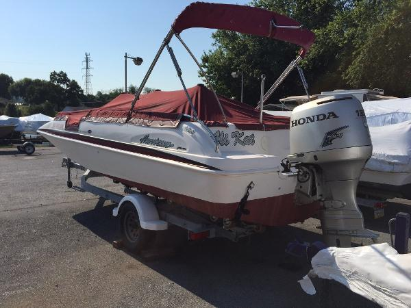2003 Hurricane FunDeck GS 201 OB