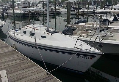 1983 Montego 25 pocket cruiser sailboat