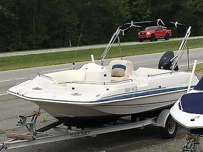 2002 Hurricane Fund Deck GS 201- Suzuki 140hp