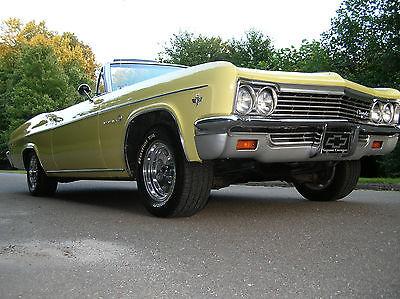 1966 Chevrolet Impala Chevy Impala Convertible 1966 327 V8