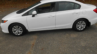 2012 Honda Civic LX Sedan 4-Door 2012 Honda Civic LX Sedan 4-Door 1.8L
