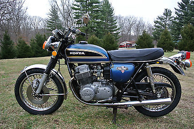 1975 Honda CB  1975 Honda CB 750 K5 SOHC cb750 Four