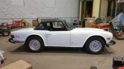 1974 Triumph TR-6 Roadster 1974 Triumph TR6 79k Orig Miles Time Capsule 2 Owner Looks Drives Amazing 50 Pic