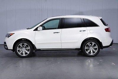 2010 Acura MDX Base Sport Utility 4-Door AWD ADVANCE & ENTERTAINMENT Pkgs Active Cruise REAR DVD NAVI Blind Spot Warranty