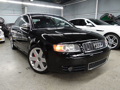 2004 Audi S4 Base Sedan 4-Door 2004 Audi S4 Quattro Sport Sedan 4.2 V8 6-Spd Recaro Heated Leather NEEDS WORK!