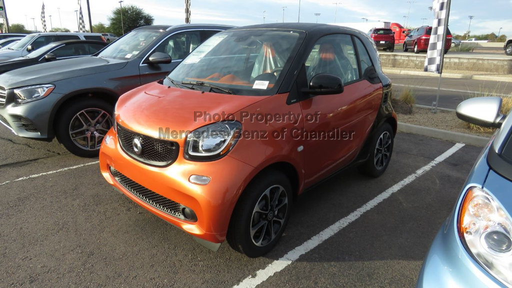 2016 smart Fortwo 2dr Coupe Prime 2dr Coupe Prime New Manual Gasoline 1.0L 3 Cyl Lava Orange (metallic)