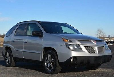 2005 Pontiac Aztek 2WD 2005 Pontiac Aztec Exceptionally Nice 2 Owner Totally Corrosion Free Collectible
