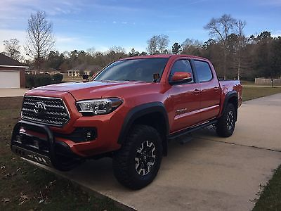 2016 Toyota Tacoma TRD PRO TRD OFF ROAD Tacoma TRD Off Road 4x4 Lifted new tires
