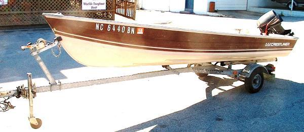 1984 Crestliner V 14