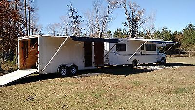 2002 Four Winds Dutchman RV 28 with 18ft enclosed Trailer MX Combo