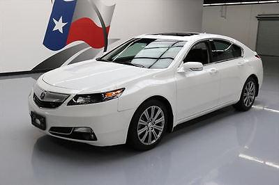 2014 Acura TL Base Sedan 4-Door 2014 acura tl special edition htd leather sunroof 54 k 008883 texas direct auto
