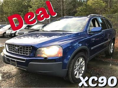 2006 Volvo XC90 4.4L V8 Ocean Race Edition Ocean Race Blue Metallic 6-Speed A/T 8 Cylinder Engine 4.4L/269 Call Mark 301-5