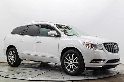 2016 Buick Enclave Leather 3rd Row Leather Heated Seats R Camera 8K Must See and Drive Save