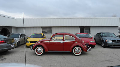 1965 Volkswagen Beetle - Classic 2D Sedan 1965 Volkswagen Beetle Rare Sliding Sun Roof Runs and Drives Great Very Nice Car